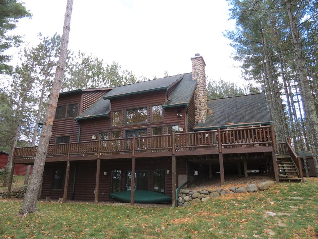Round Lake Home Hayward Wi Kevin Brisky Lakewoods Real Estate