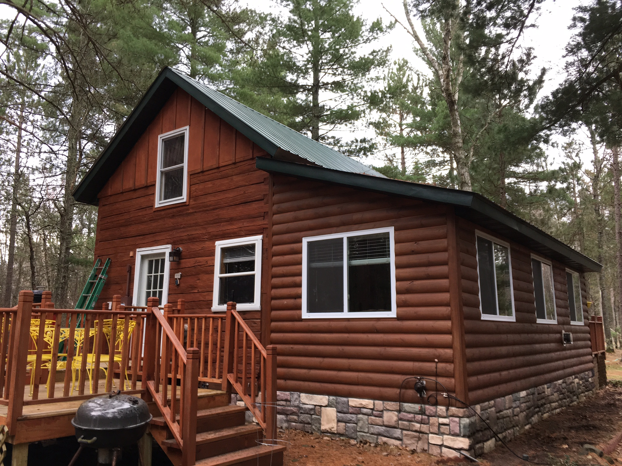 cabin cabins resort sale wisconsin in northern small for watch pines hayward grand rental