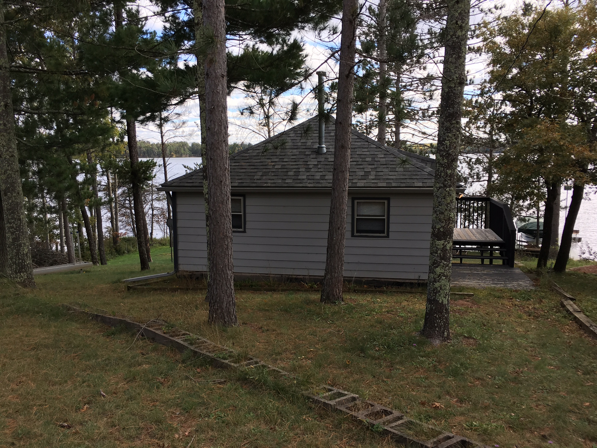 Big bass lake cabin minong wi kevin brisky for Cabins on lake michigan in wisconsin